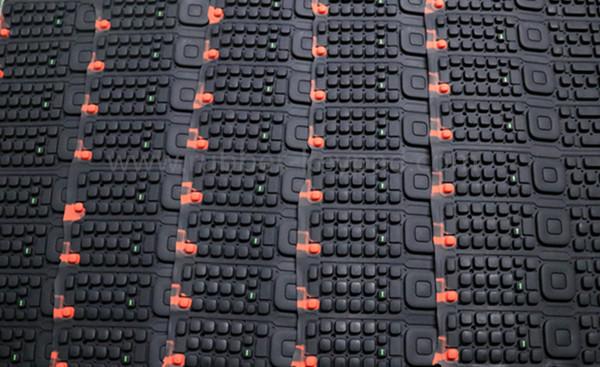 teclado de pantalla de seda