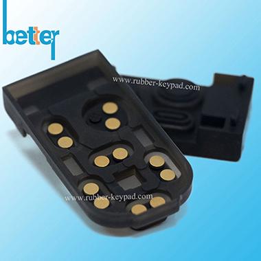 Píldora de metal Teclado de goma