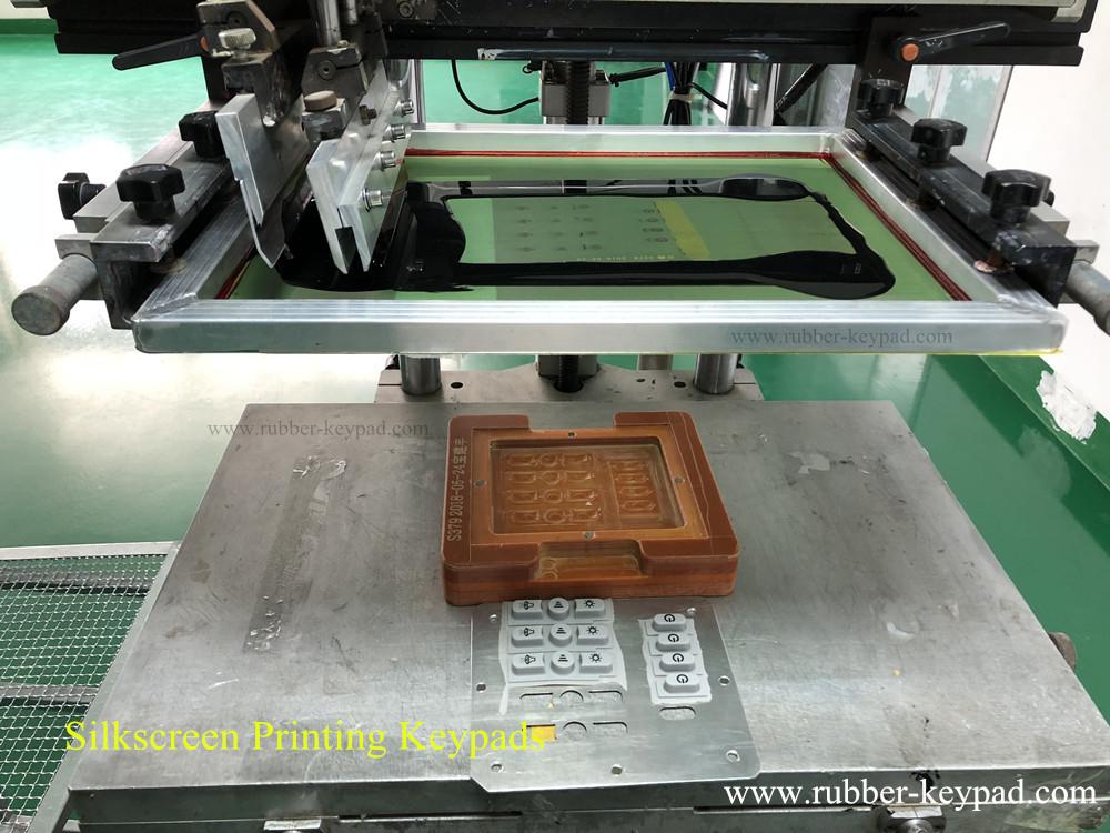 Botones de silicona impresos