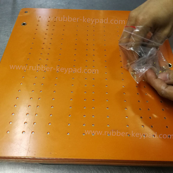 procesamiento de pastillas de metal